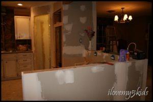 Kitchen Remodel ilovemy5kids