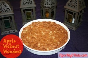 Apple Walnut Wonders – Just smells like FALL!
