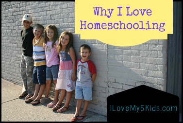 Why I love homeschooling