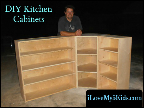 Our Custom Kitchen Cabinets And Free Of SPLINTERS!