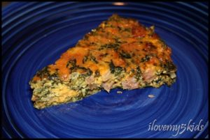 Crustless Spinach Quiche Tutorial (EASY MEAL)