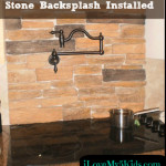 Surprise: A Stone Backsplash with a Pot Filler