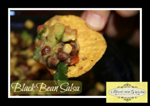 EASY RECIPE – Black Bean Salsa