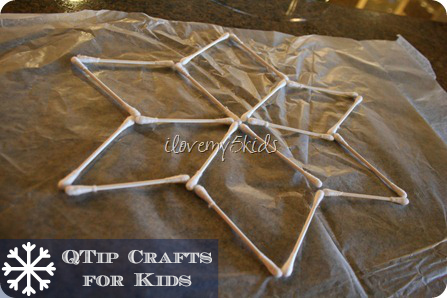 Q Tip Crafts for Kids