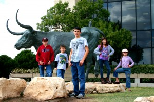 Road Trip with kids to the Permian Basin