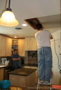 Kitchen Ceiling Leak Blessing