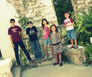 5 kids at EP