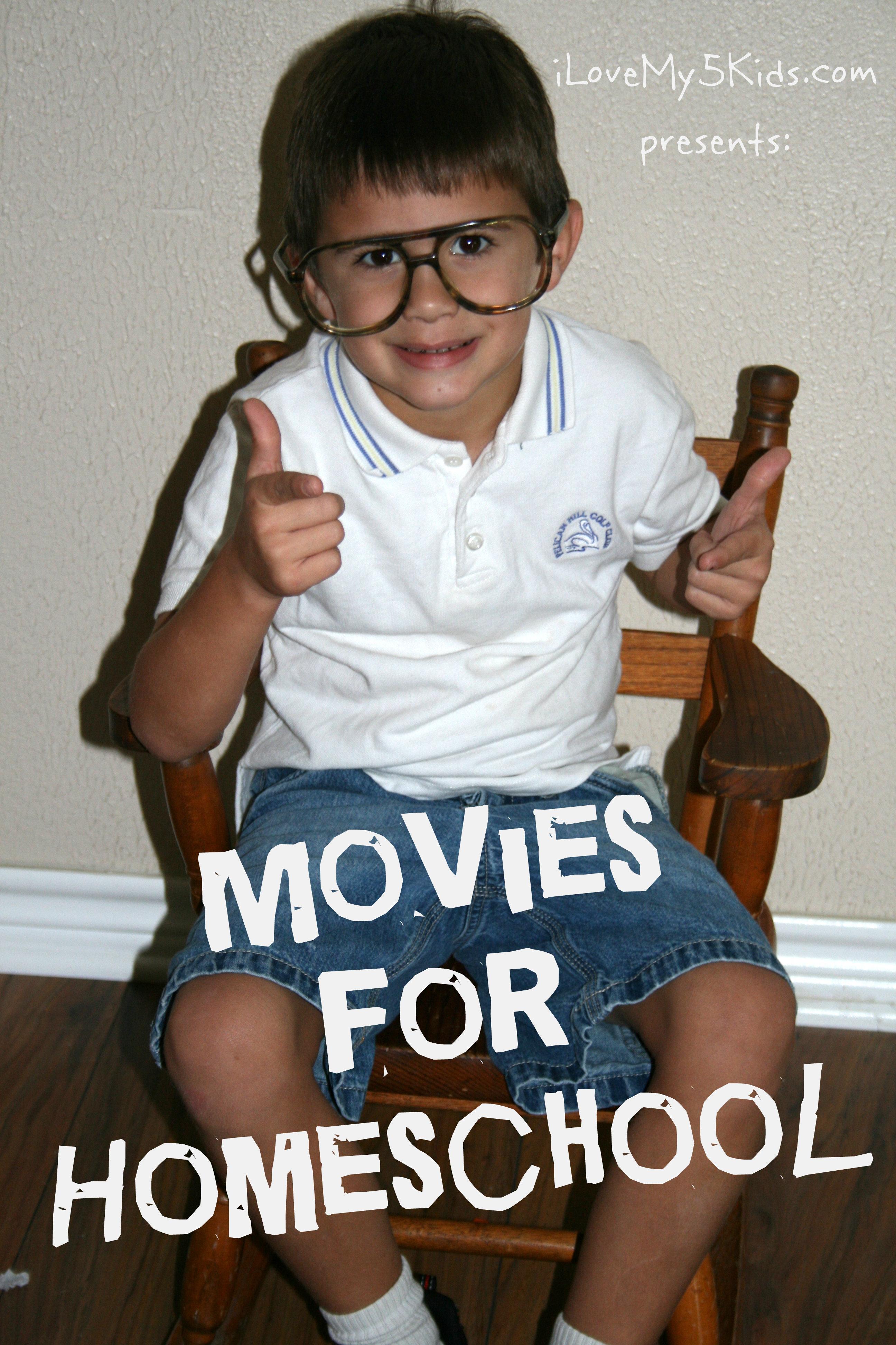 Homeschooling using movies