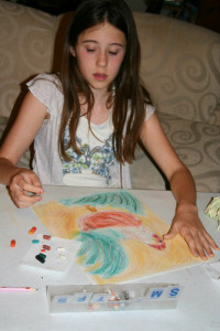 Creating a Masterpiece homeschool pastel version