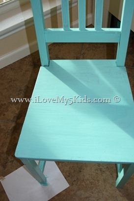 Pretty color for chair