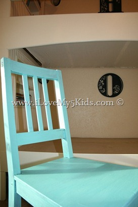 Easy painted chair