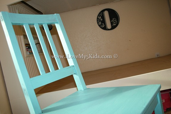 Shaker style painted chair