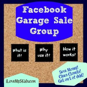 Facebook Garage Sale Group