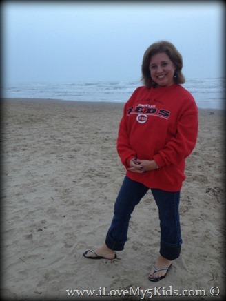 Lana on beach