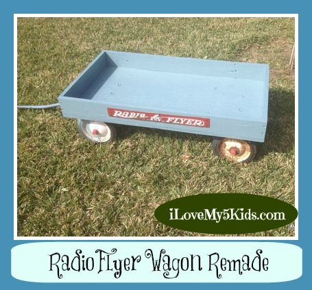 Radio Flyer DIY remodel