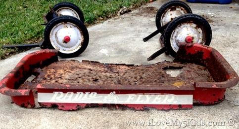 Radio Flyer Upcycle