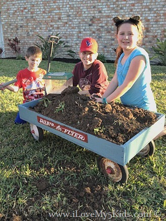 Radio Flyer helps with gardeners