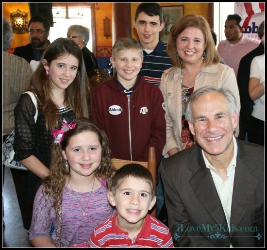 Meeting Gregg Abbott