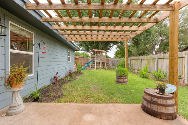DIY Pergola. We always buy small plants and let them grow into bigger ones.  It is more cost effective plus they are just fun to watch the landscape ... - Transformed Backyard