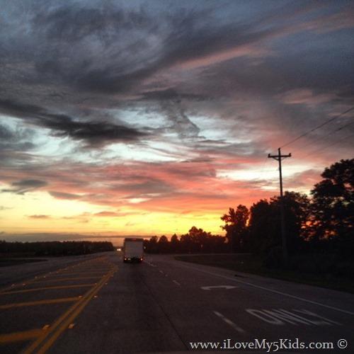 ilovemy5kids Sunset