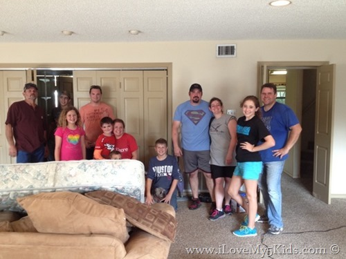 Moving Crew with 5 Kids