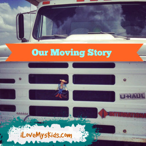 Our Moving Story, which I pray we never do again