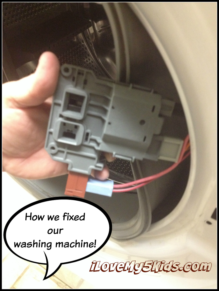 How we fixed our washing machine