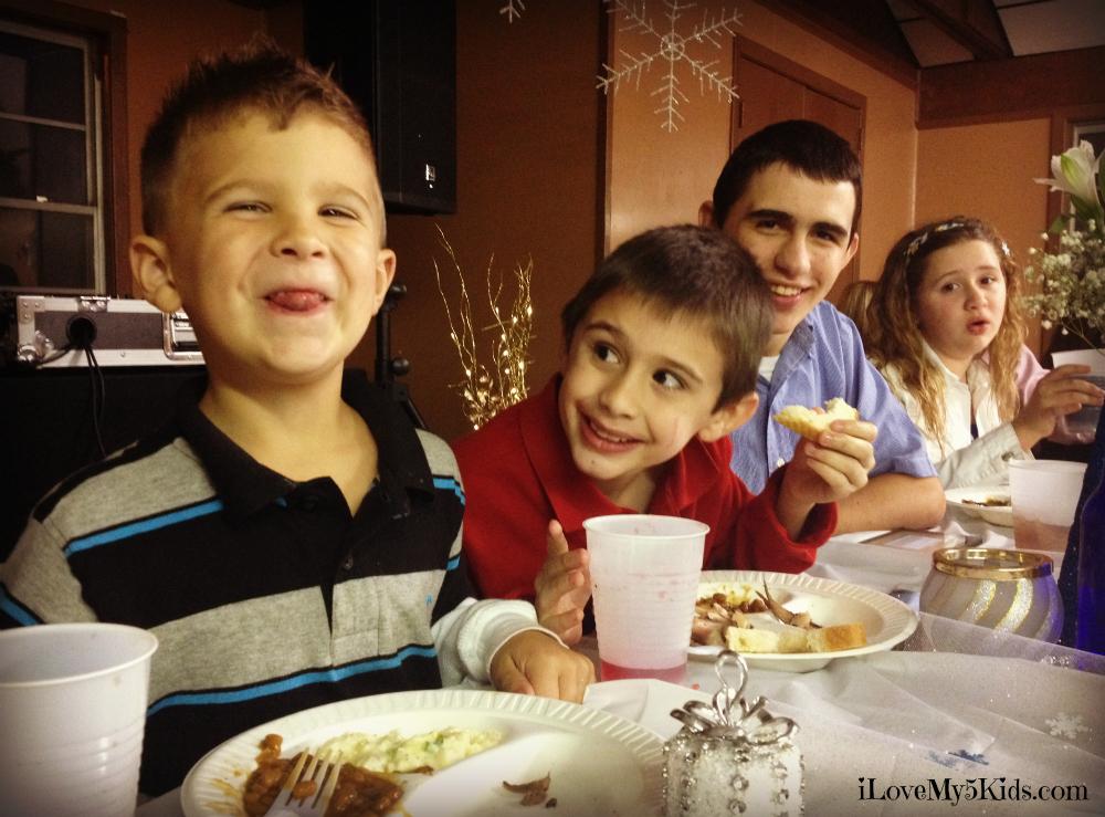 Precious Nephew and Kids