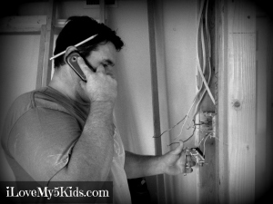 Remodeling with kids