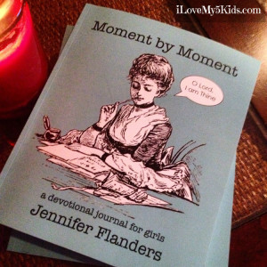 Moment by Moment Devotional by Jennifer Flanders