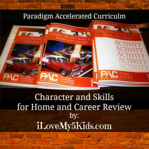 Paradigm Accelerated Curriculum Character & Skills
