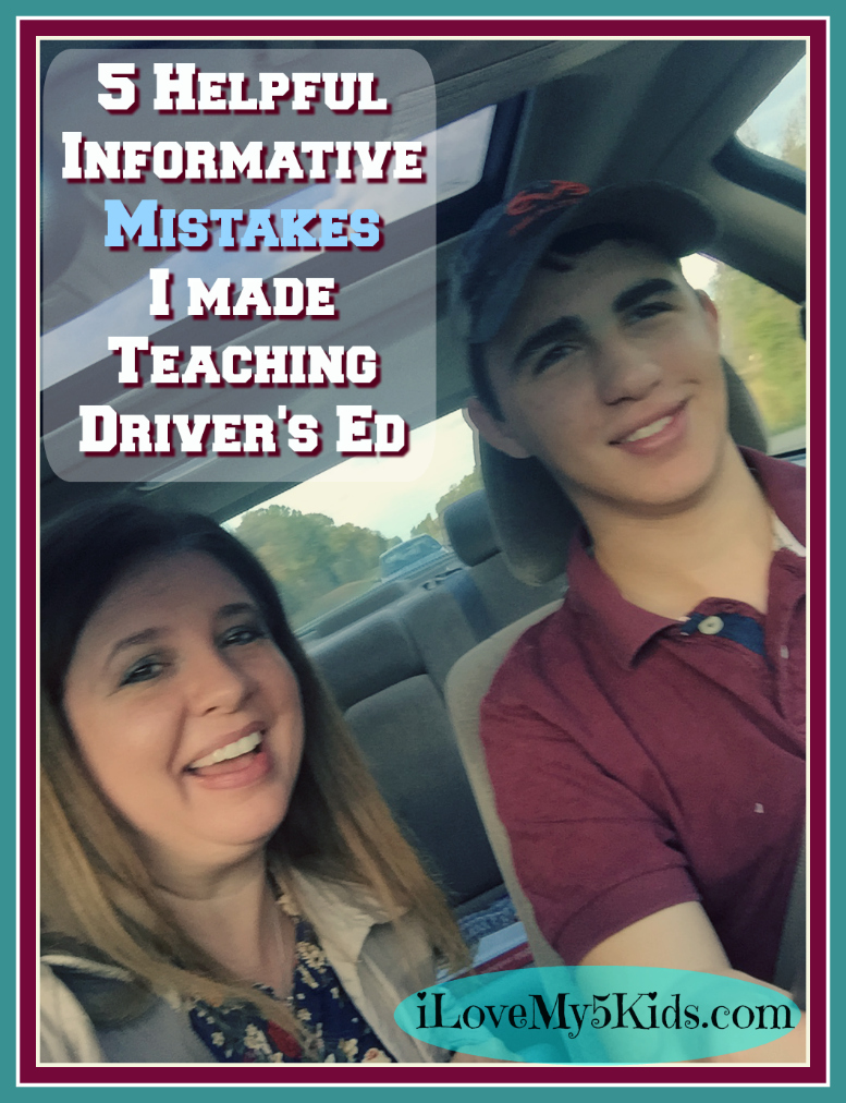 5 Helpful Informative Mistakes I made Teaching Driver's Ed