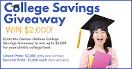 College Saving Contest Rectangle