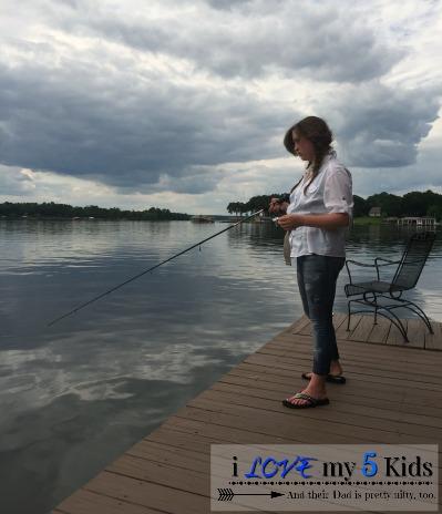 Fishing pole catcher crown belongs to me ilovemy5kids for Fishing poles near me