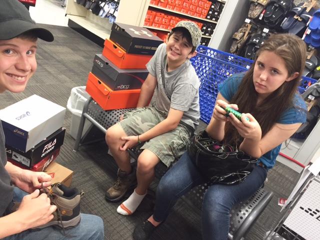 Being Pranked Shoe Shopping