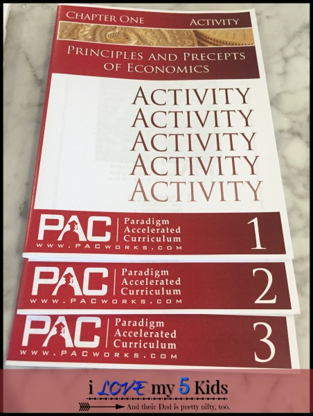 PAC Economics Activity Books