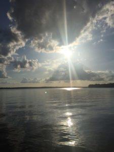 Sunset over lake ilovemy5kids