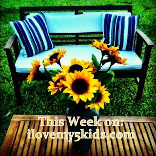 This week on ilovemy5kids.com