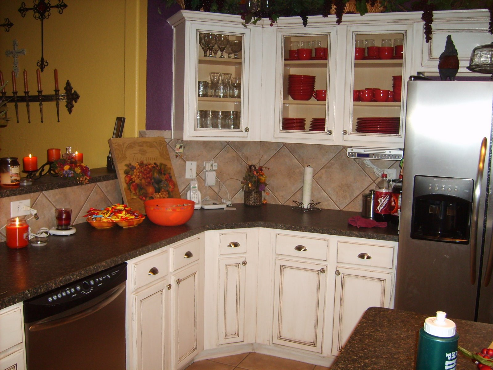 kitchen re dooh my kitchen cabinets for cheap My inspiration Kitchen Redone Cheap but Beautiful